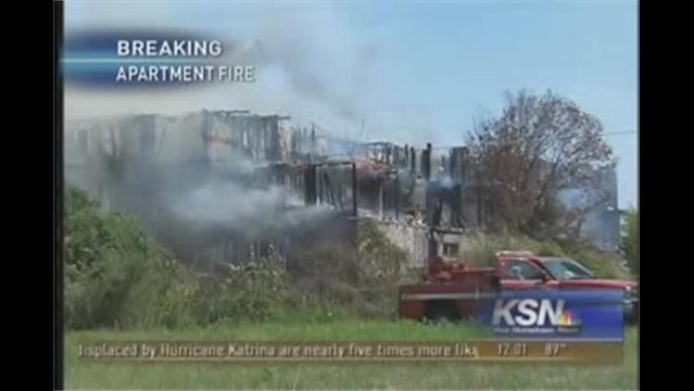 7 Injured, 29 Units Damaged in Apartment Fire