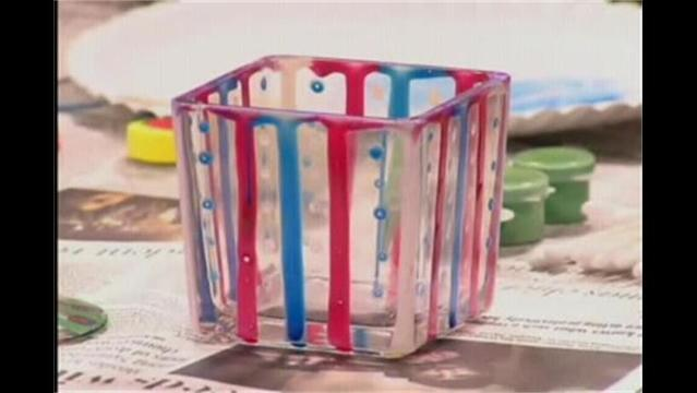 Crafter Impossible- Glass Painting Pt. 1- January 11, 2013