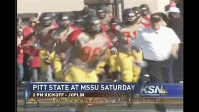 Pitt State Wants Positive End To Season vs MSSU