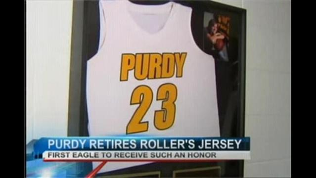 Addy Roller First Purdy Eagle Ever to Have Jersey Retired
