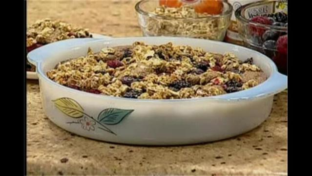 Mercy- Mixed Berry Coffee Cake- May 29, 2012