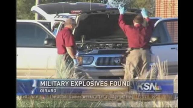 Military Explosive Devices Found Near Hospital