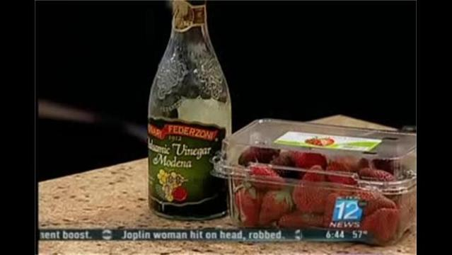 Mercy- Strawberries With Balsamic Vinegar- March 6, 2012