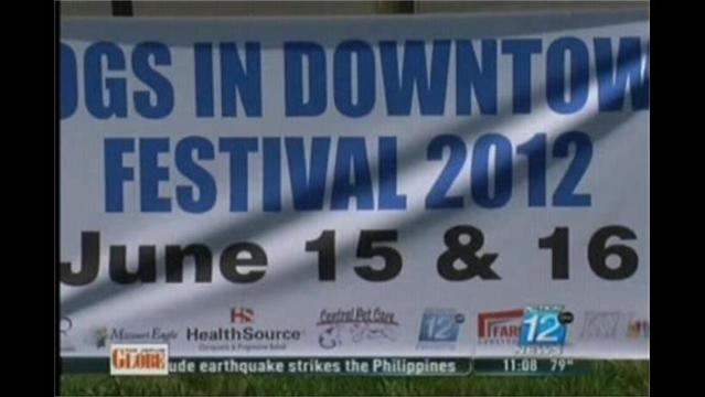 Dogs in Downtown Event