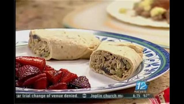 Mercy- Breakfast Burritos- March 6, 2012