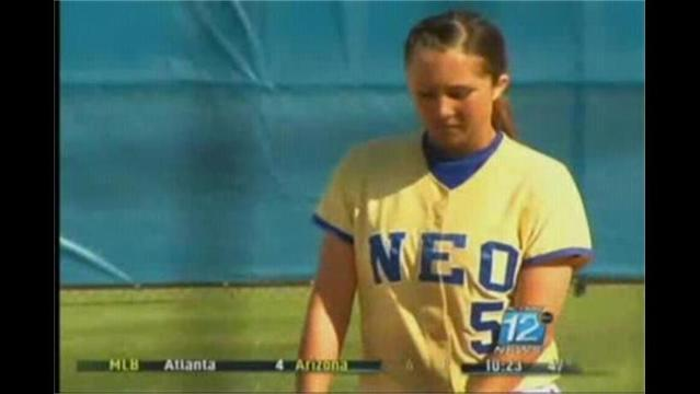 NEO Baseball & Softball Highlights Plus Two Webb City Grads in Action