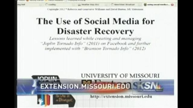 Social Media & Disaster Recovery