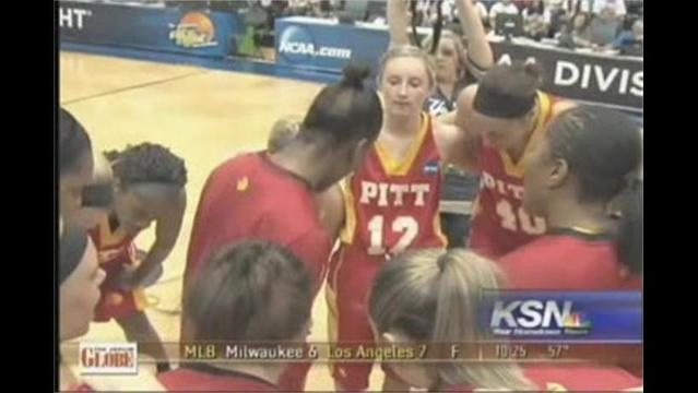 Pitt State stumbles in Elite 8 game to Shaw