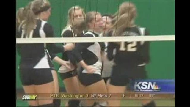Diamond Defeats College Heights in Volleyball