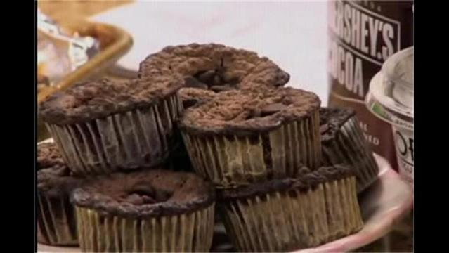Mercy- Triple Chocolate Chunk Muffins- April 2, 2013