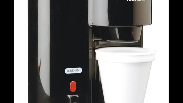 Jerdon Style Recalls One-Cup Coffeemakers