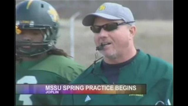 Spring Practice Begins For MSSU
