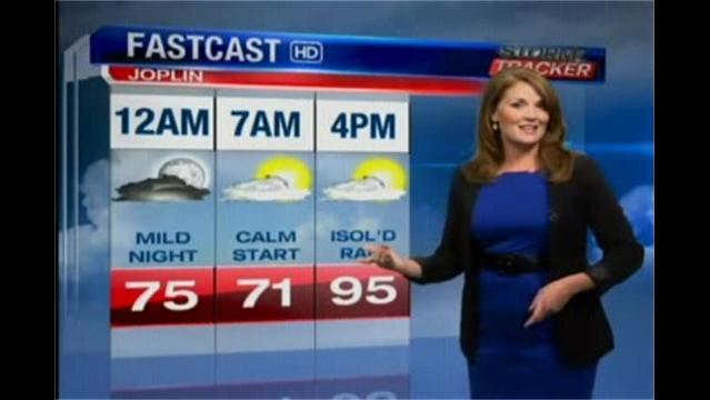 Storm Tracker Forecast for 07/22/13