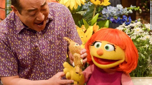 Sesame Street adds muppet with autism