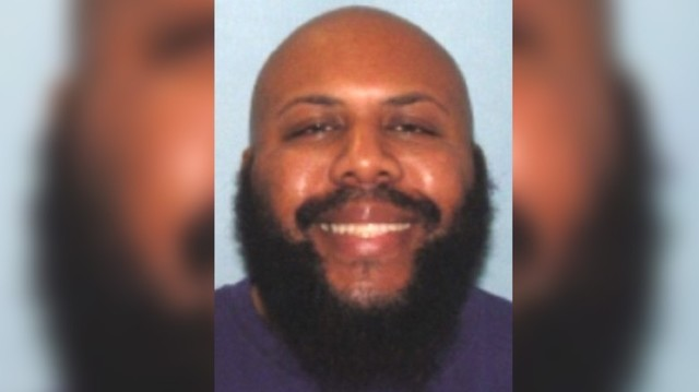 Facebook killer shoots himself during police chase