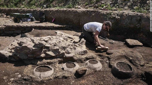 'Exceptional' Roman Site Dug Up in France