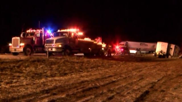 Several crashes from slick roads reported in Mid-Missouri