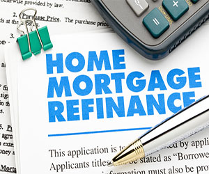 I want to refinance my home ...