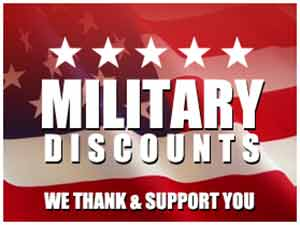 Four State Doors - Military Discounts