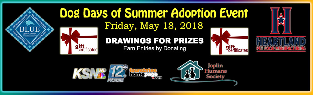 Dog Days of Summer Adoption Event