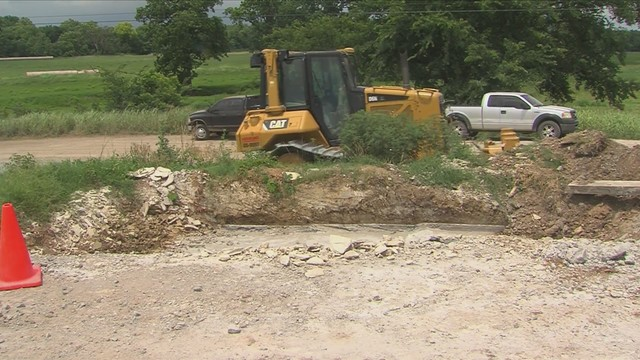 Deaton on I-49 construction project