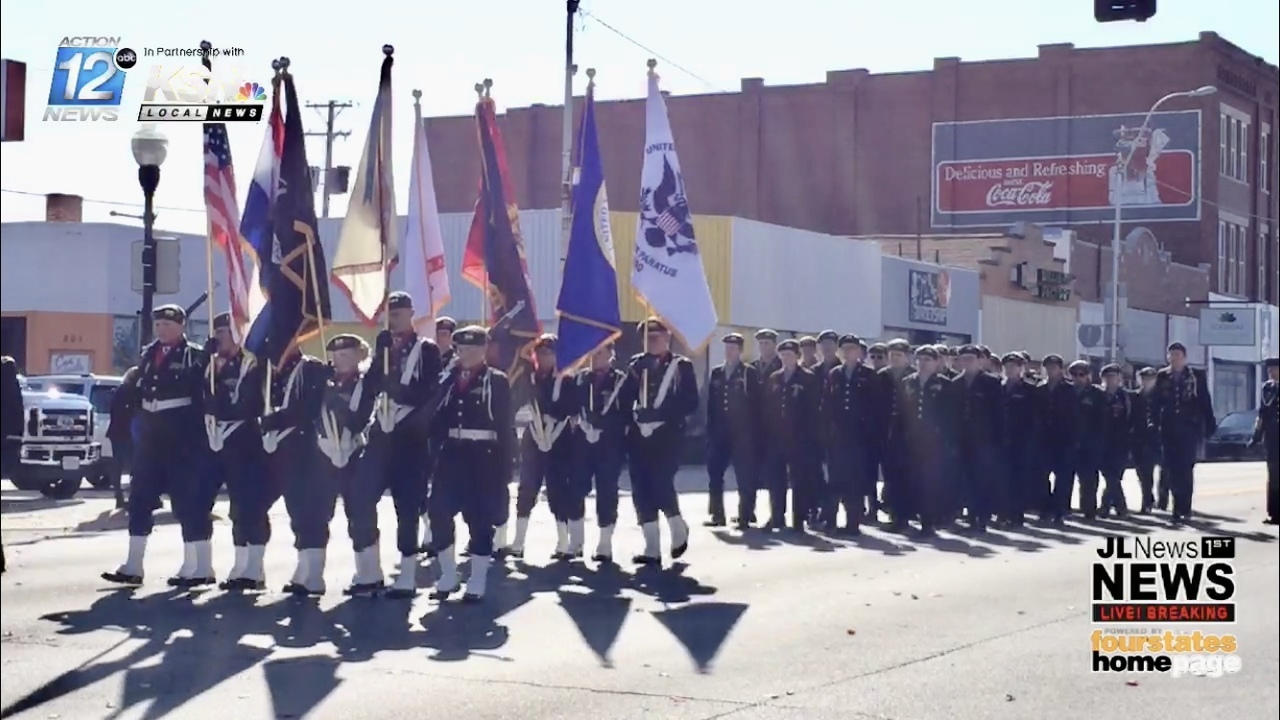 See from start to finish, 31st Annual Joplin Veterans Day Parade