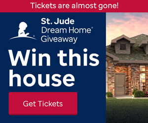 Last Chance from St Judes Dream Home Giveaway